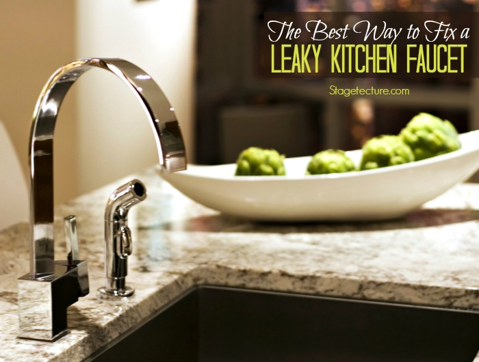 The Best Way To Fix A Kitchen Leaky Faucet -