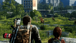 The Last of Us Remastered (PS4) giraffes