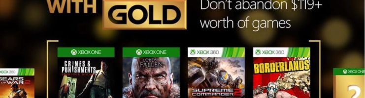 Games with Gold for March 2016 on Xbox One and Xbox 360