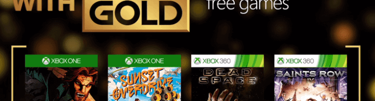 Games with Gold for April 2016 on Xbox One and Xbox 360