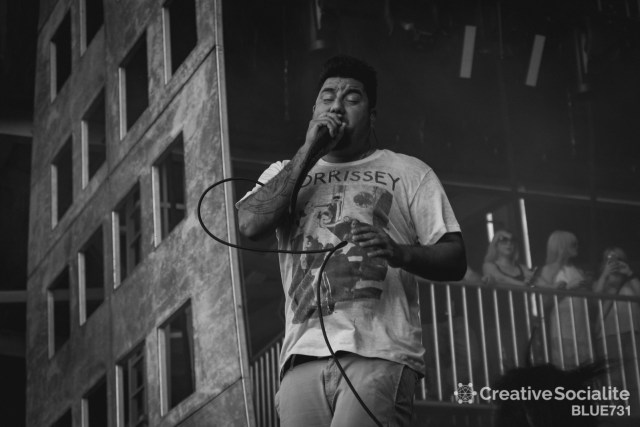 Chino Moreno of the Deftones.