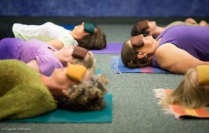 Restorative Yoga for Pain Relief Thursday at 7:30 p.m.