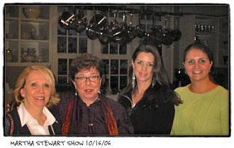Staging Diva Graduates at Martha Stewart