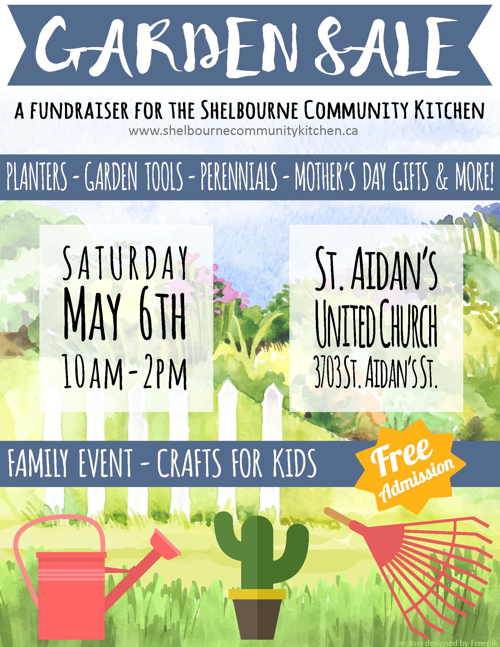 Garden Sale Garden Sale Fundraiser May 6 St Aidan 39s United Church