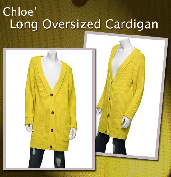 CHLOEoversizesweater