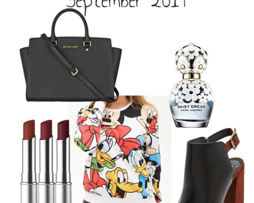 LUST-HAVE LIST: September 2014
