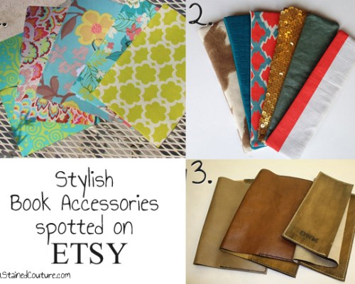 Stylish Book Accessories Spotted on Etsy