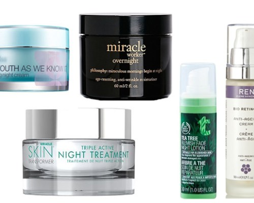 Night Creams I Want AND Need To Try