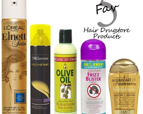 My 5 FAVORITE Drugstore Hair Products