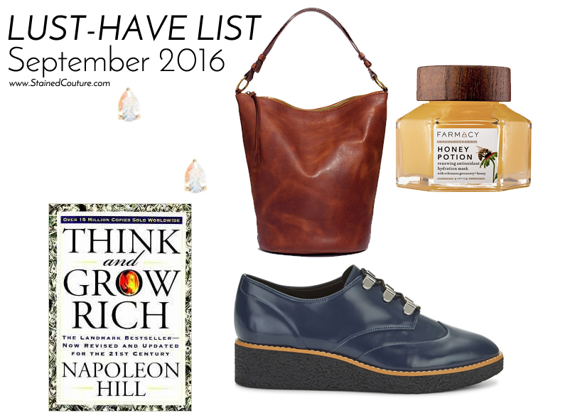 lust-have list september 2016