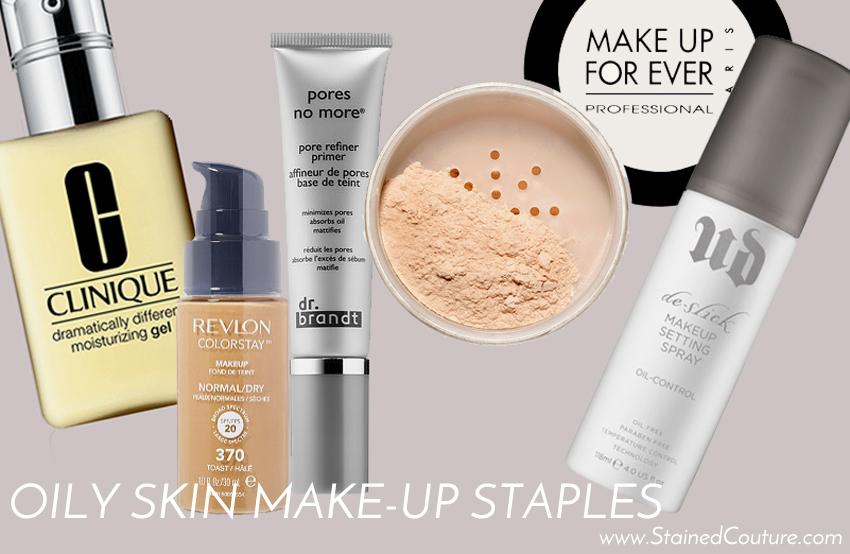 oily skin make-up staples