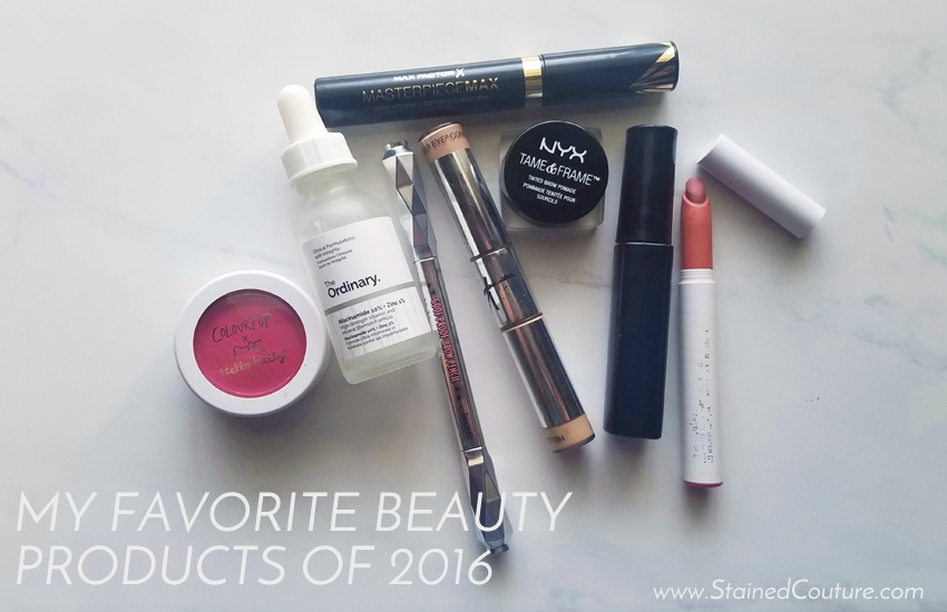 favorite beauty products of 2016