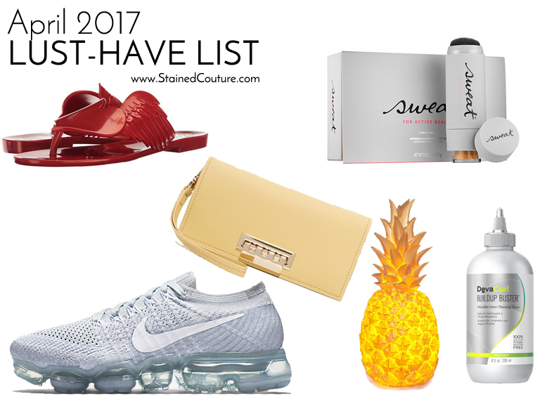 lust-have list april 2017