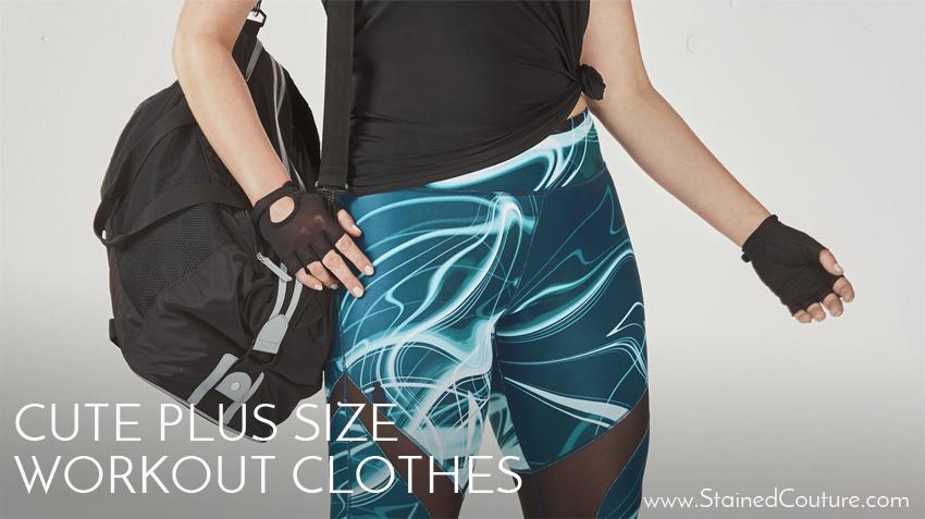 plus size athletic wear