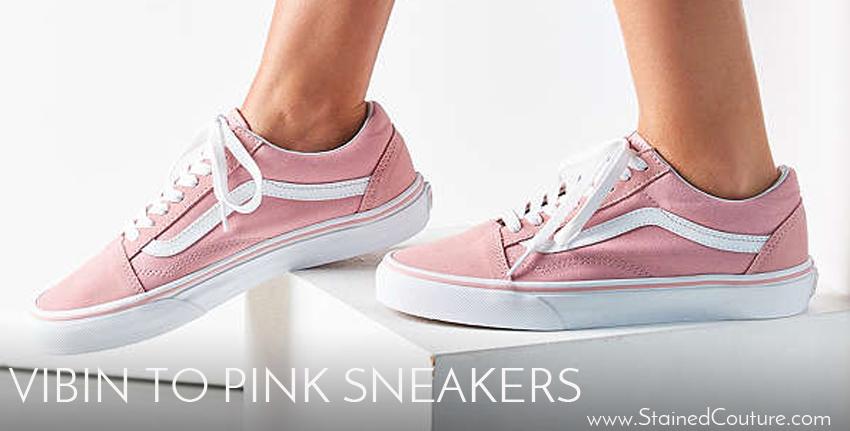 pink sneakers summer 2017