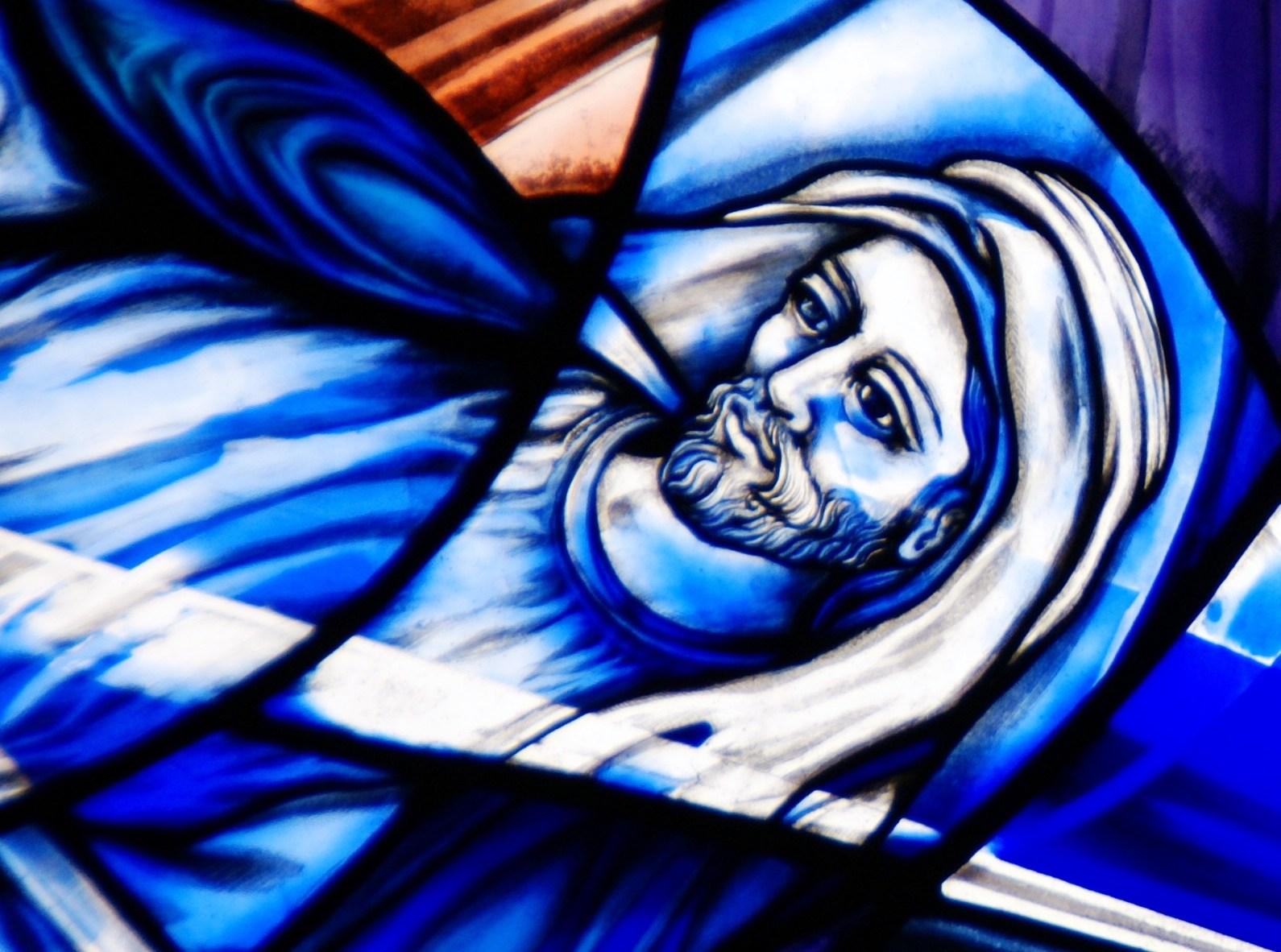 Cana Windows Stained Glass Of The Rosary Sunrise Stained Glass Studio