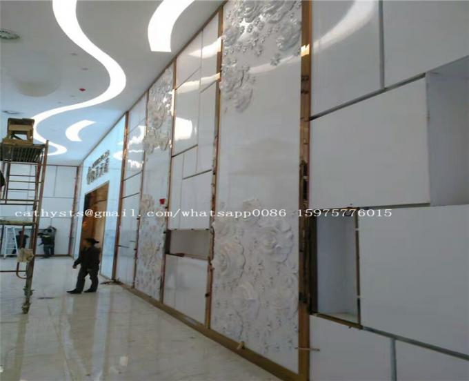 Decorative Mirror Malaysia Brushed Finish Stainless Steel Sheet Trim Decorative Strip