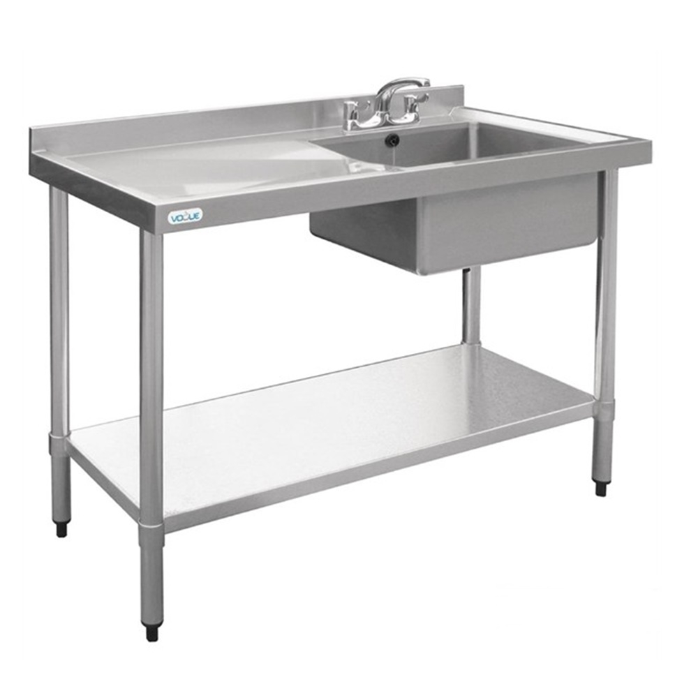Stainless Steel Single Sink 1200 X 700 Mm