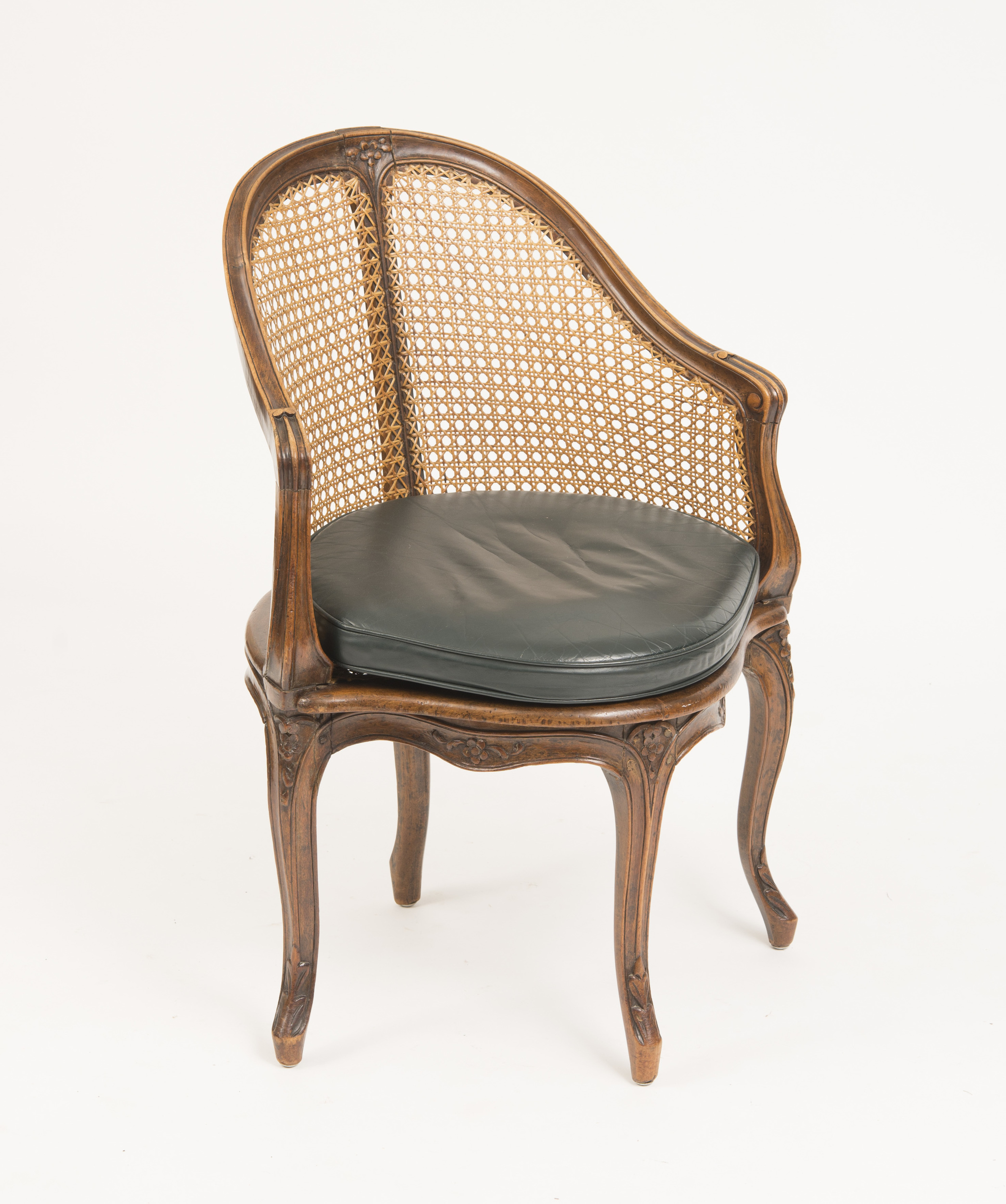 Fauteille Bureau Louis Xv Style Beechwood And Caned Fauteuil De Bureau Auction