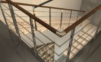 Modern Railing Systems in wood, cable wire, stainless ...