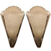 Pair of Art Deco Wall Sconces - Paul Stamati Gallery