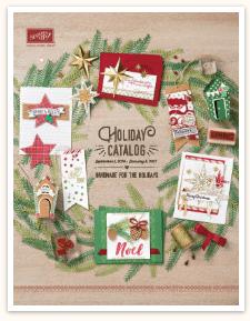 SU holiday catalogue cover