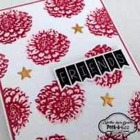 PEEK-A-BOO STAMPS EN STAMPARTPAPEL