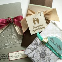 THREE PACKAGE FOR WEDDING GIFTS