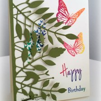 MARIPOSA COLORED EMBOSSING
