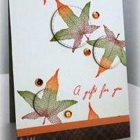 MAPLE LINE LEAF CARD