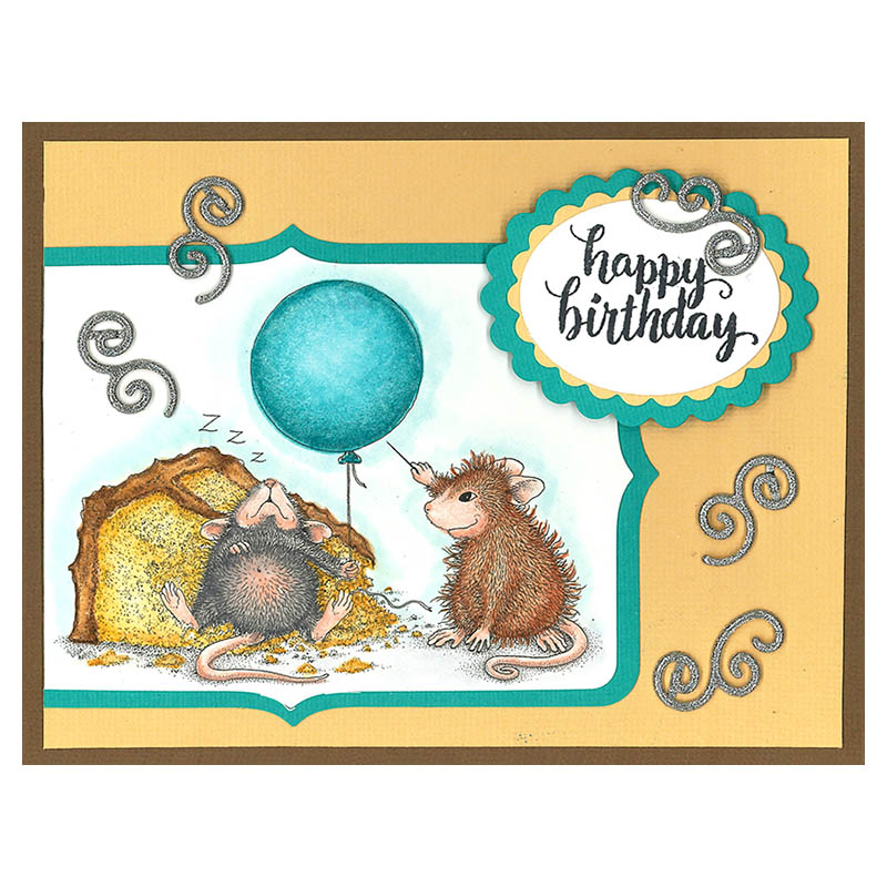 House-Mouse Designs® Birthday Mischief by Kristine Reynolds