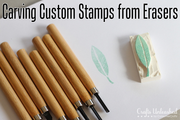 Tutorial carve your own stamps stamping
