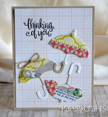 Tip: Die Cut Shapes with Paper Scraps