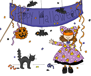 Freebie: Halloween Party Digital Stamp