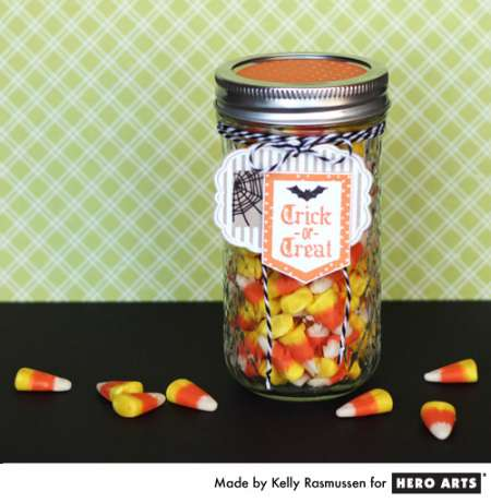 Project: Halloween Candy Jars with Tags