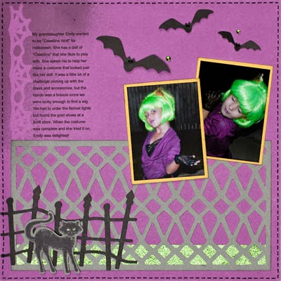Project: Halloween Layouts