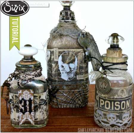 Project: Spooky Halloween Bottles