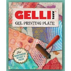 Technique: Gelli Plate Printing