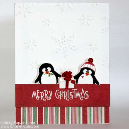 Project: Penguin Christmas Card