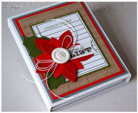 Project: Christmas Note Pad