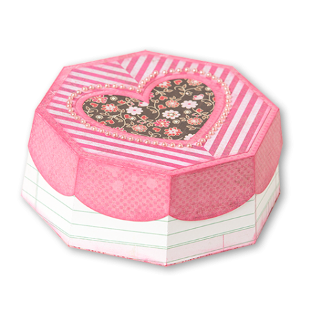 Freebie: Heart Box Die Cut