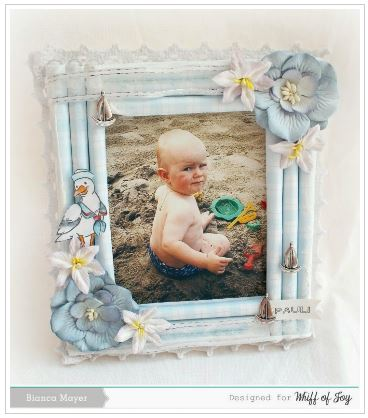Project: Rolled Paper Photo Frame