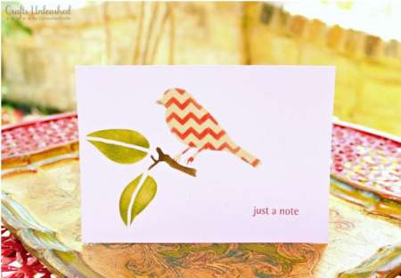 Project: Stenciled Greeting Cards