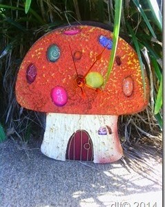 Project: Mushroom Fairy Clock