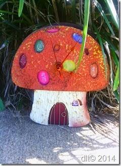 Project: Mushroom Fairy Clock