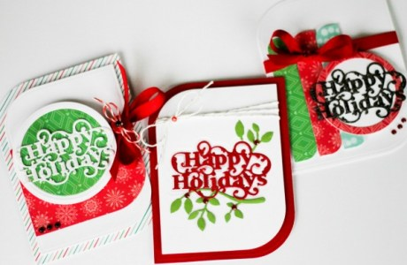 Projects and Inspiration: Die Cut Your Holiday Paper Crafting Projects