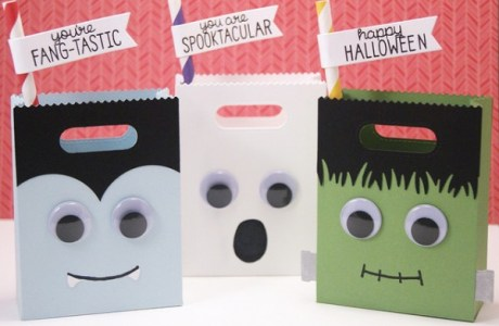 Project: Halloween Monster Treat Bags