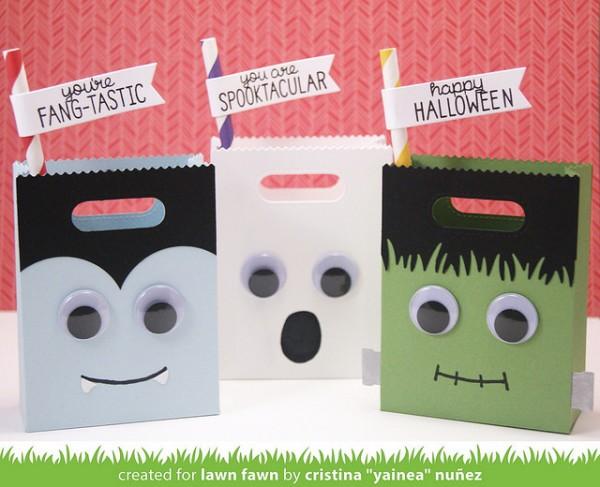 Project: Halloween Monster Treat Bags