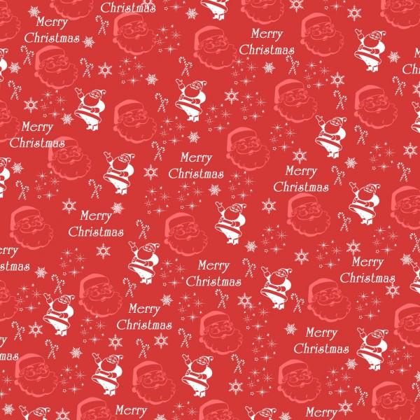 Freebie: Santa Pattern Paper