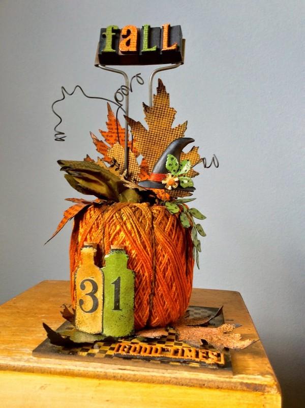 Project: Pumpkin Centerpiece
